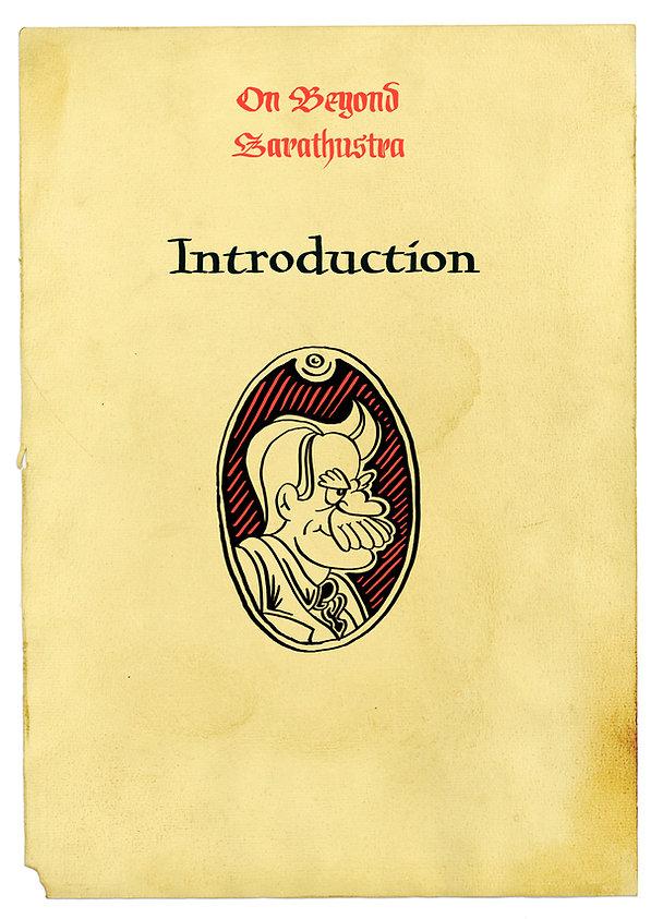 Nietzsche profile cartouche