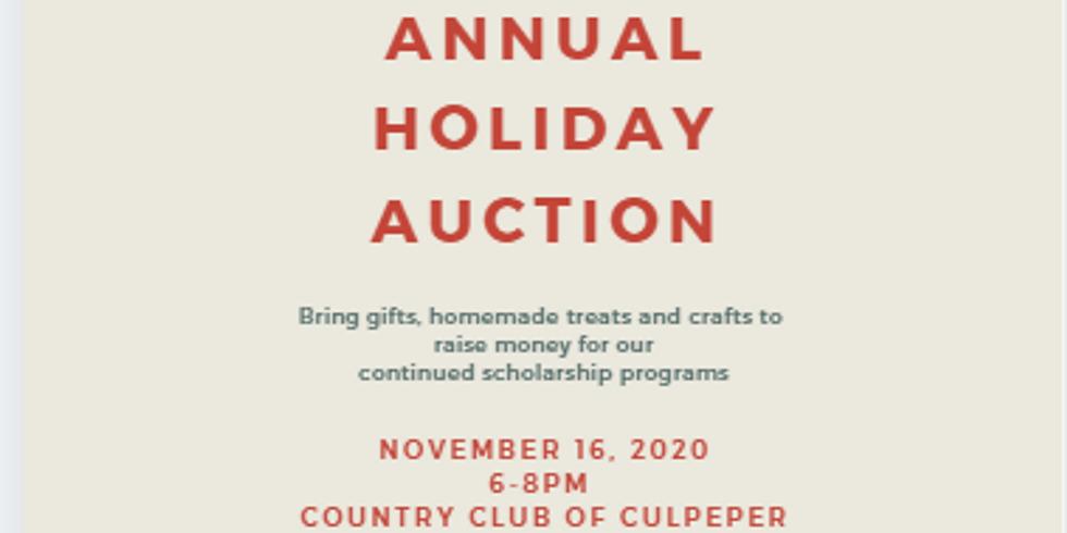 CBW Annual Auction & November Meeting