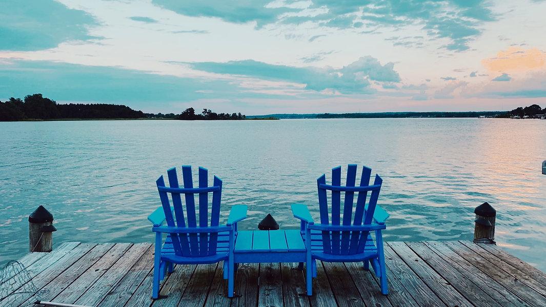 enjoying lake anna