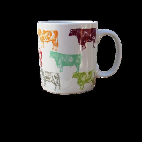 Designer Cow Mug