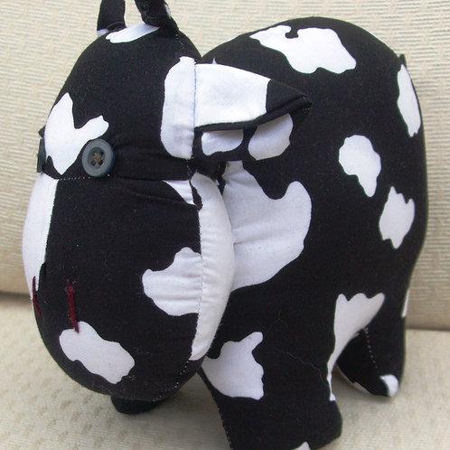 Hand-made soft Cow