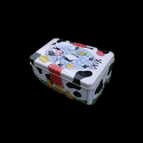 Empty 3D Cow Gift Tin