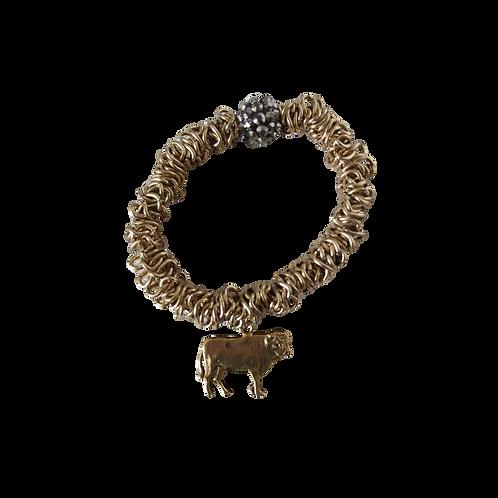 Gold Bull Bracelet