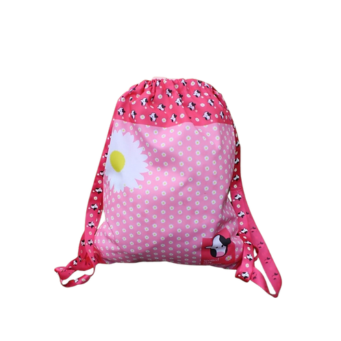 Cow Drawstring Backpack