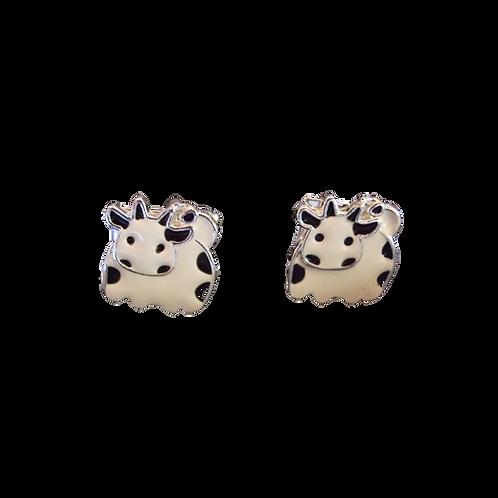 White Cow Cufflinks