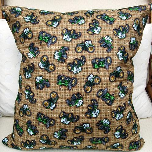 Johne Deeres on Brown Cushion
