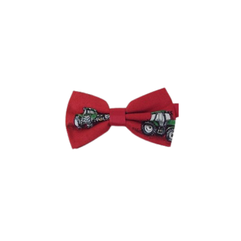 Red Tractors Bow Tie