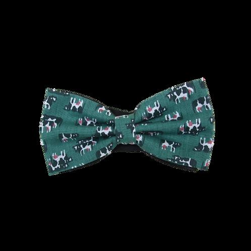 Green Cows Bow Tie