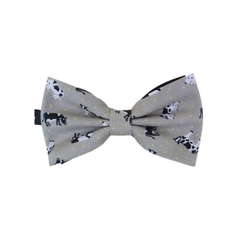 Sm Tossed Cows Bow Tie