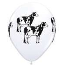Standing Holstein Cows Balloon
