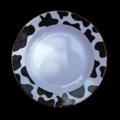 Round Shallow melamine bowl
