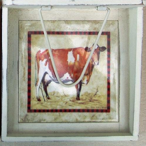 Ayrshire Cow Napkin Holder