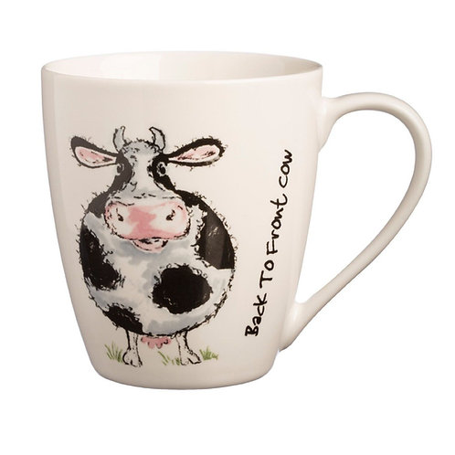 Back to Front Cow Mug
