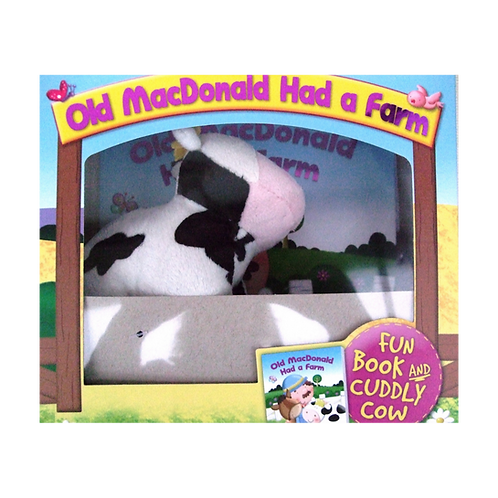 Book & Cuddly Cow Gift
