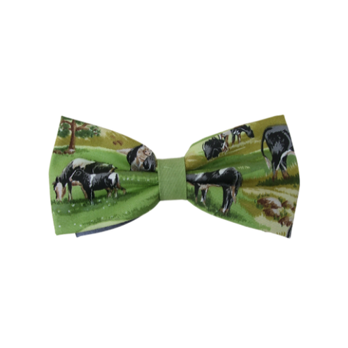 Cows in Pasture Bow Tie