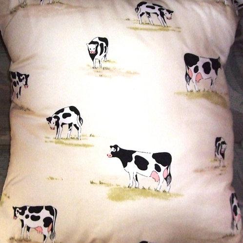 Cream small Cows Cushion