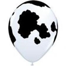 Cow print Holstein balloon