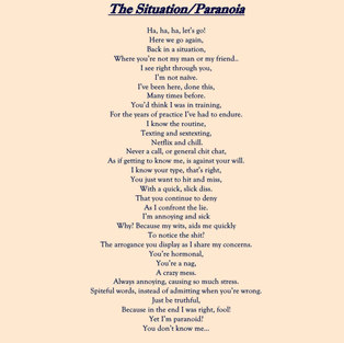 The Situation/Paranoia