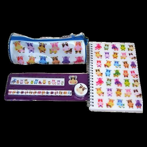 Cute Cows Pencil Case set