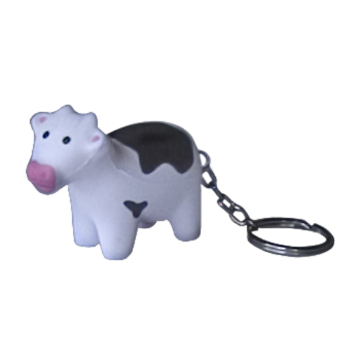 Squeezy Cow Keyring