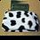 Thumbnail: Cow Print zip Purse