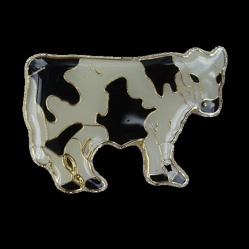 Holstein Cow pin/tie badge