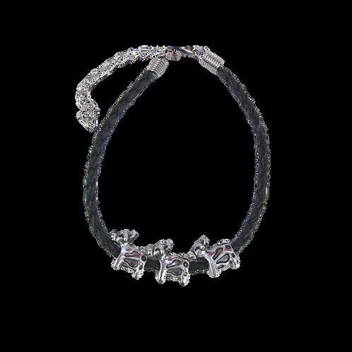 3 x Cows Leather Bracelet