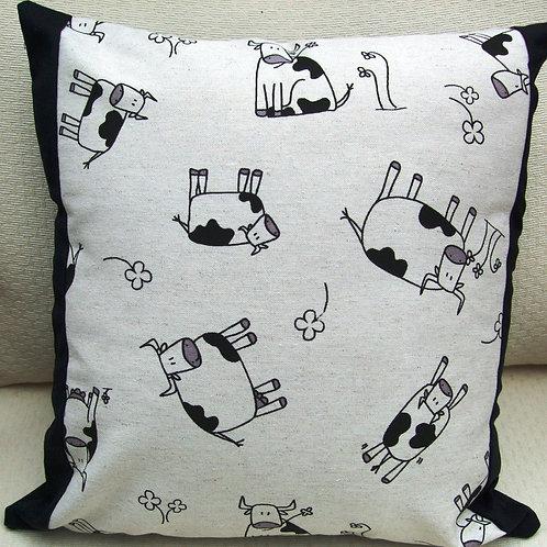 Cartoon Cows Cushion