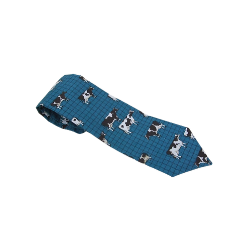 Tie 11 Turquoise cows