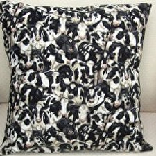 Crowded Cows Cushion