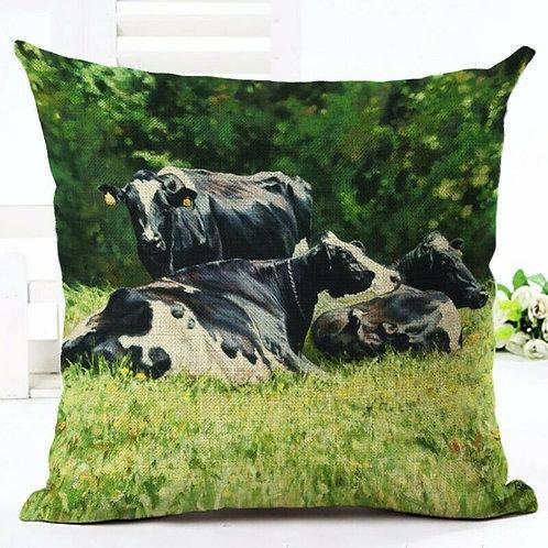 Holstein Cows Cushion
