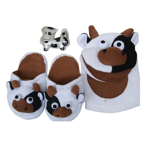 Bath Cow Gift Set