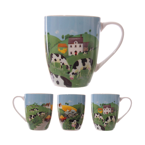 Cows In The Countryside Mug