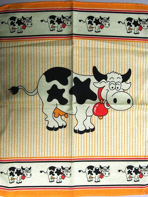 Pair of Cow Tea Towels