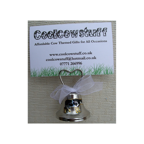 Cow bell Placecard Holder