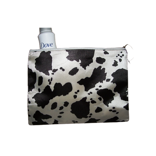 Cow Print Toiletry Bag