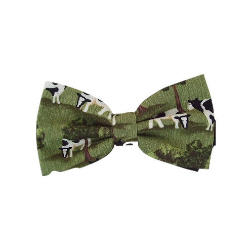Cows & Trees Bow Tie