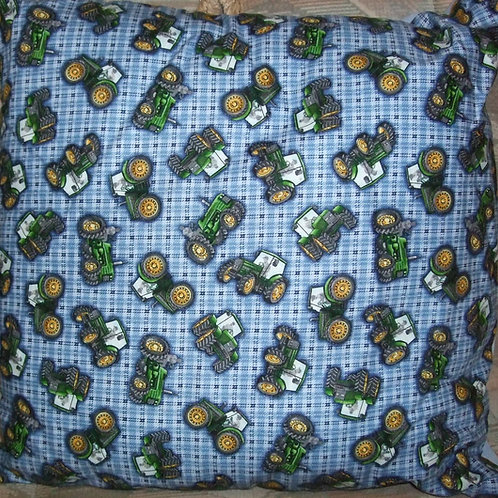 Johne Deeres on Blue Cushion