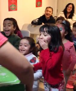Kids surprised