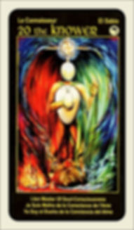 Tarot Card 20 The Knower