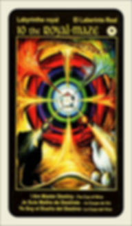 Tarot Card 10 Royal Maze