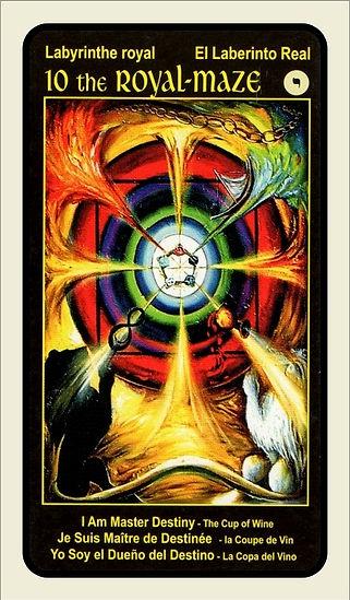 Tarot Card 10 Royal Maze