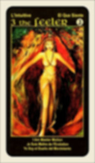 Tarot Card 3 The Feeler