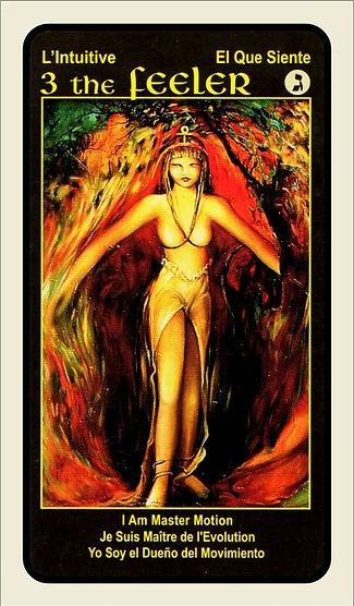 Tarot Card 3 The Feeler