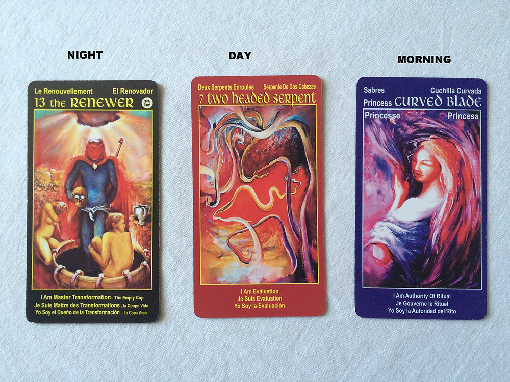 3 Cards Daily Reading with I Am One tarot