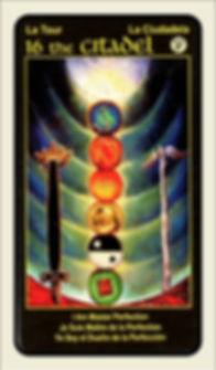 Tarot Card 16 Citadel