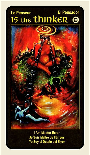 Tarot Card 15 The Thinker