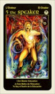 Tarot Card 5 The Speaker