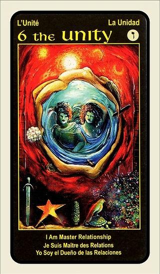 Tarot Card 6 Unity