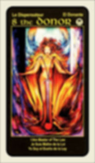 Tarot Card 8 The Donor